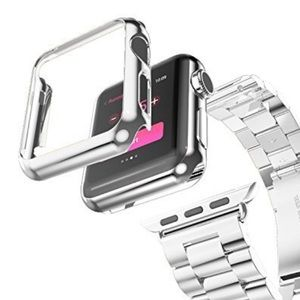 38mm Stainless Steel Apple Watch Protective Cover